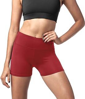 Pantaloncini Sportivi Donna Fitness Shorts Sportivi per Allenamento Palestra Running Ragazza Mesh Allenamento Corsa Yoga Breve Pantaloni