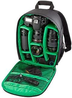 Eachbid Camera Backpack Multi-Functional Professional Video Digital DSLR Bag Waterproof Camera Bag Green