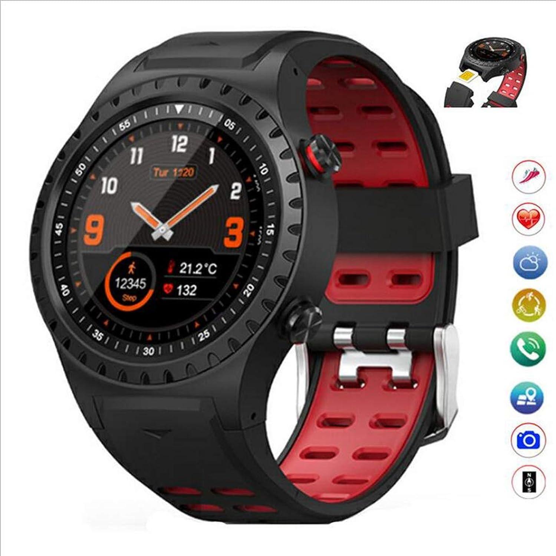 AQWWHY Blautooth Smart Watch Wasserdicht IP68 Fitness Tracker 1,3 Zoll Farbdisplay Unterstützung SIM-Karte GPS Schlaf Monitor Anrufbenachrichtigung SMS für Android iOS
