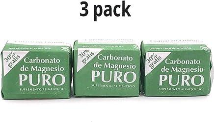 Cubitos De Carbonato De Magnecio/Magnesium Carbonate 7grs - Carbonato de Magnesio Puro.