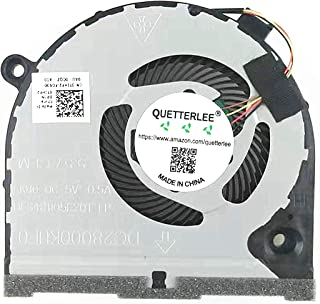 QUETTERLEE Replacement New CPU Cooling Fan Compatible DELL inspiron Game G3 G3-3579 G3-3771 G5 15 5587 Series 0TJHF2 DFS48...