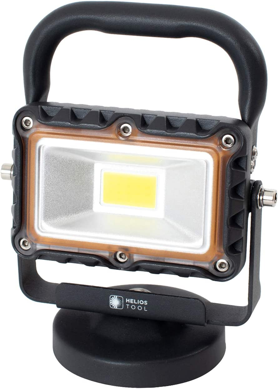 Helios Tool 1000 Lumen Heavy Duty Work LED Metal Portable Online limited product Light Deluxe