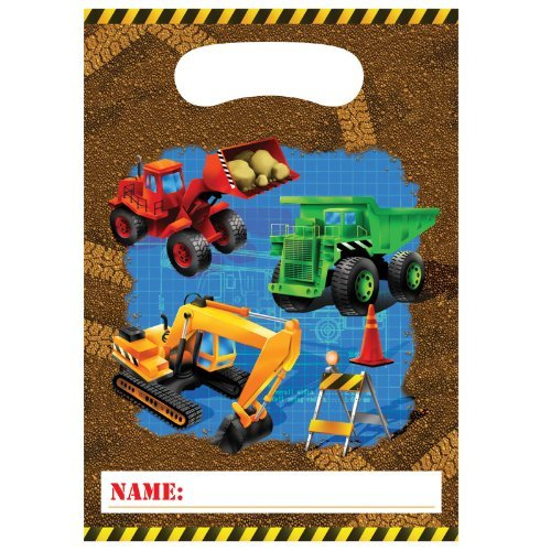 Under Construction Loot Bags 8ct by Factory Card and Party Outlet