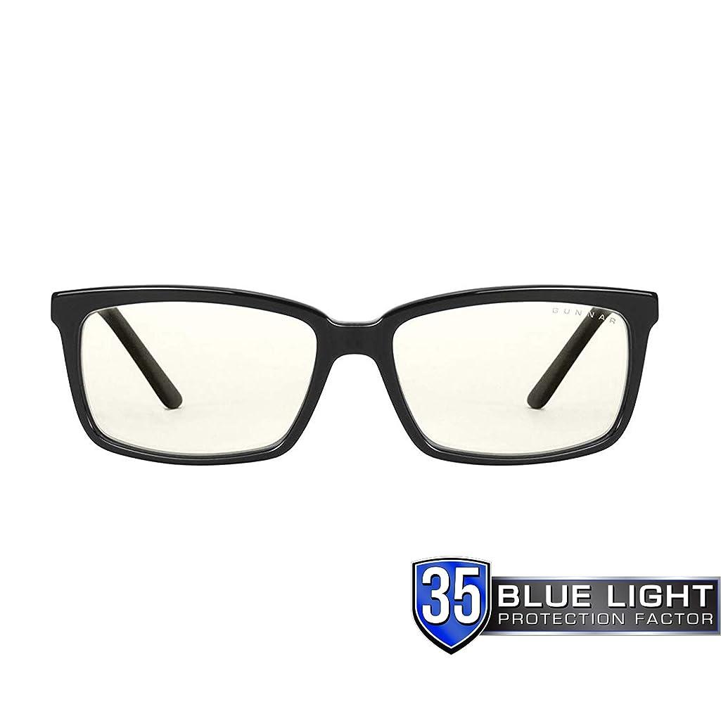 GUNNAR Gaming and Computer Eyewear/Haus, Clear Tint - Patented Lens, Reduce Digital Eye Strain, Block 35% of Harmful Blue Light