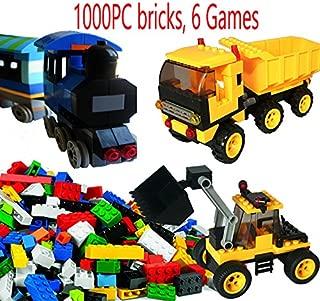 dreambuilderToy Creative Building Brick Set, 1000 Pieces...