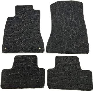 QianBao Front & Rear Nylon Water Ripple 4PC Car Floor Carpets Liner Floor Mat Fits Lexus IS350 IS250 2006 2007 2008 2009 2010 2011 2012