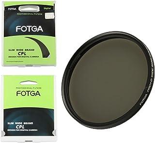 Fotga 62mm Ultra Slim CPL Circular Polarizing Glass Filter for Canon Nikon Sony Pentax Olympus Panasonic Fujifilm Leica Ri...