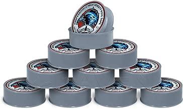 Raven TTC12520G-10 PTFE Thread Seal Tape Professional Grade, High Density Premium PTFE, Gray 1/2 Inch x 520 Inch (Pack of 10 Rolls)