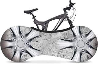 Parapioggia Riflettente Colore Grigio per rimorchio Bicicletta Rubberneck