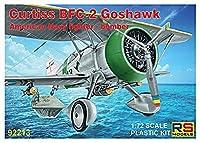 RSモデル 1/72 アメリカ海軍 カーチス BFC-2 ゴスホーク プラモデル 92213