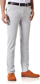 Demon&Hunter Hombre Algodón Suave Pantalones Casual DH8323