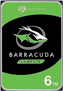 "Seagate ST6000DM003 Barracuda Compute 3.5"" Internal Hard Drive, 6TB, 5400 RPM"