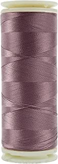 WonderFil, Specialty Threads, InvisaFil, 2-Ply Cottonized Soft Polyester, Silk-Like Thread for Fine Sewing, 100wt - Dusty Rose, 400m