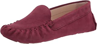Cole Haan Women's Driver Driving Style Loafer, Dark Red, 10