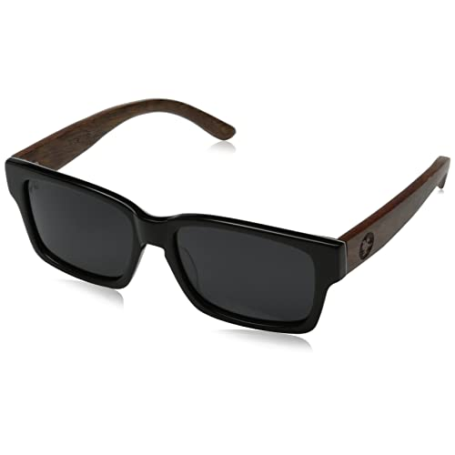 9b88f2b33032 Proof Eyewear Unisex Bannock Black Tiger Camo Eco Wood Handcrafted Water  Resistant Wooden Sunglasses