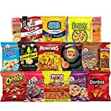 40 count of your favorite Frito-Lay snacks perfect for any snacking occasion and great as a care package for a loved one. Delight the taste buds of friends, family and co-workers with 40 of their favorite Frito lay snacks The ultimate snack care pack...