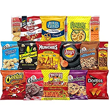 Frito-Lay Ultimate Snack Care Package Variety Assortment of Chips Cookies Crackers & More 40 Count