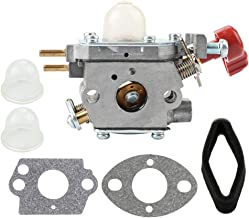 Leopop 753-06288 C1U-P27 Carburetor for Troy Bilt TB430 TB2040XP TB2044XP TB2MB Murray MS2550 MS2560 MS9900 Craftsman 316791020 316711170 316711190 Trimmer Blower Parts Air Filter Tune Up Kit