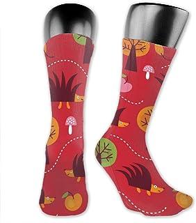 Uosliks, Calcetines deportivos Diseño de tela para niños Calcetines cómodos y suaves Calcetines frescos y divertidos