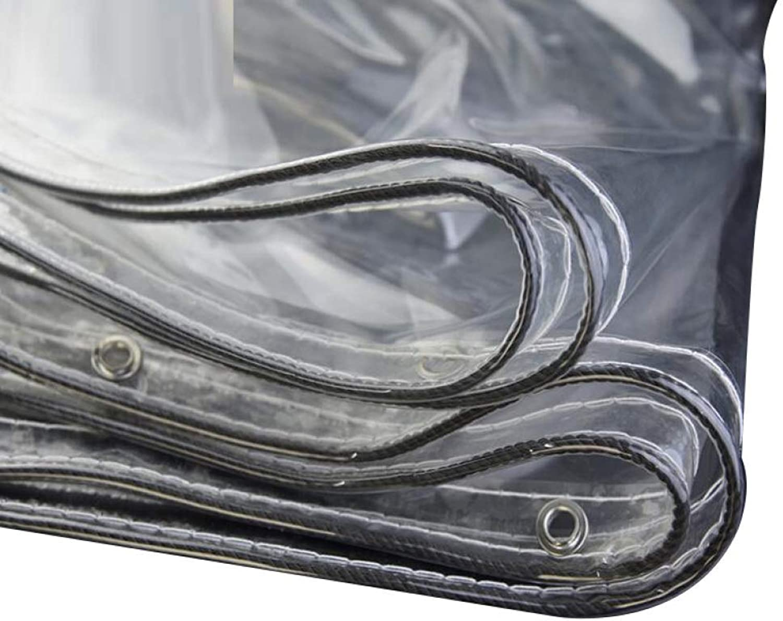 KYCD Transparente Plane, wasserfest, 19 mm, leicht, leicht, leicht, wasserdicht, transparent, Balkon-Pflanzen-Markise, regendicht, 2 x 3 m 5.7x6.3ft 1.9x2.1m B07NTJ91C7  Abgabepreis 604990