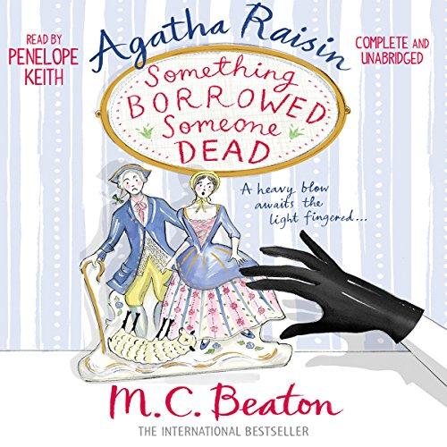 Agatha Raisin: Something Borrowed, Someone Dead Titelbild