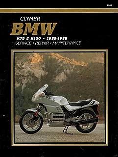 Bmw K75 and K100, 1985-1989: Service, Repair and Maintenance (Clymer Motorcycle Repair Series)