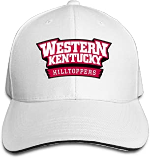 Acmiran Western Kentucky Hilltoppers Football WKU Funny Baseball Cap One Size Black