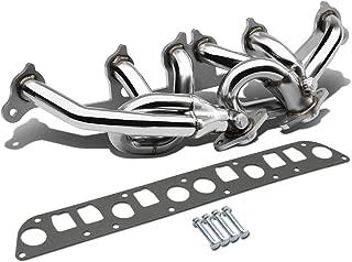 DNA motoring HDS-JC0040L Stainless Steel Exhaust Header Manifold