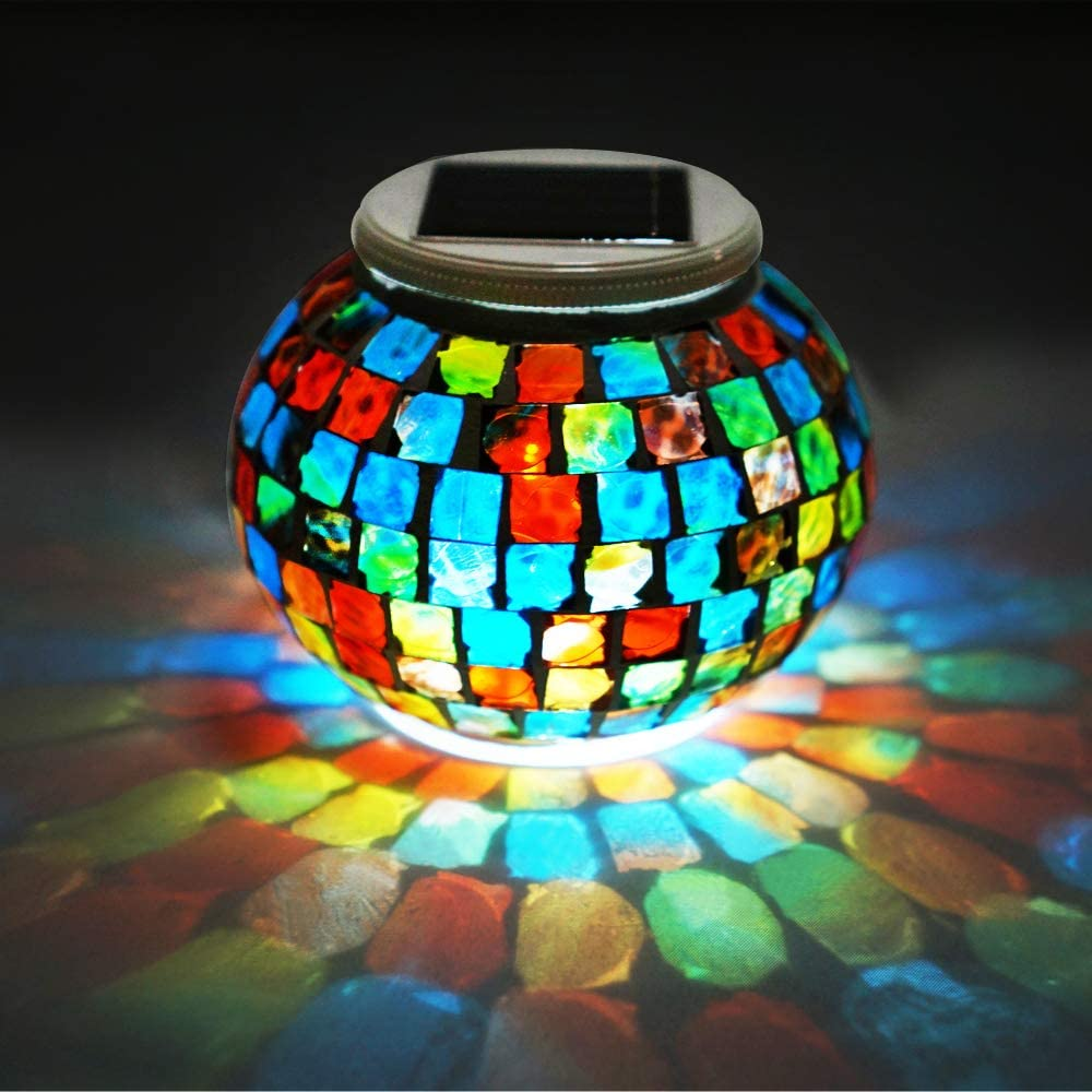 Solar Glass Ball Genuine Free Shipping Lights LoveNite Very popular Color M Powered Changing