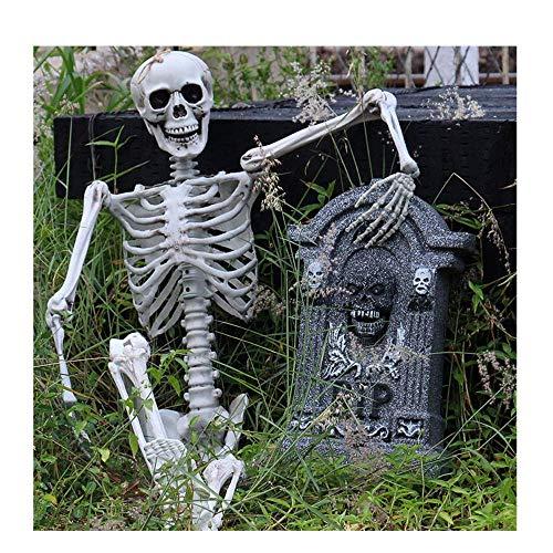 POPLY Squelette Halloween Horror Deco Halloween Decoration Exterieur Gothique pour Fete Halloween Fête Carnaval Cosplay Soirée Dansante