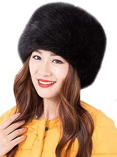Faux Fur Warm Hat for Women Russian Cossack Style Winter