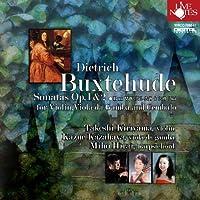 ブクスデフーデ ヴァイオリン、ヴィオラ・ダ・ガンバ、チェンバロの為のソナタ全集作品1&2、