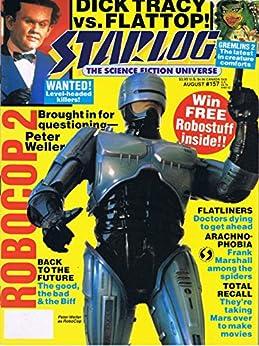 Starlog Magazine The Sci Fi Comics: August 1990 by [William Shatner]