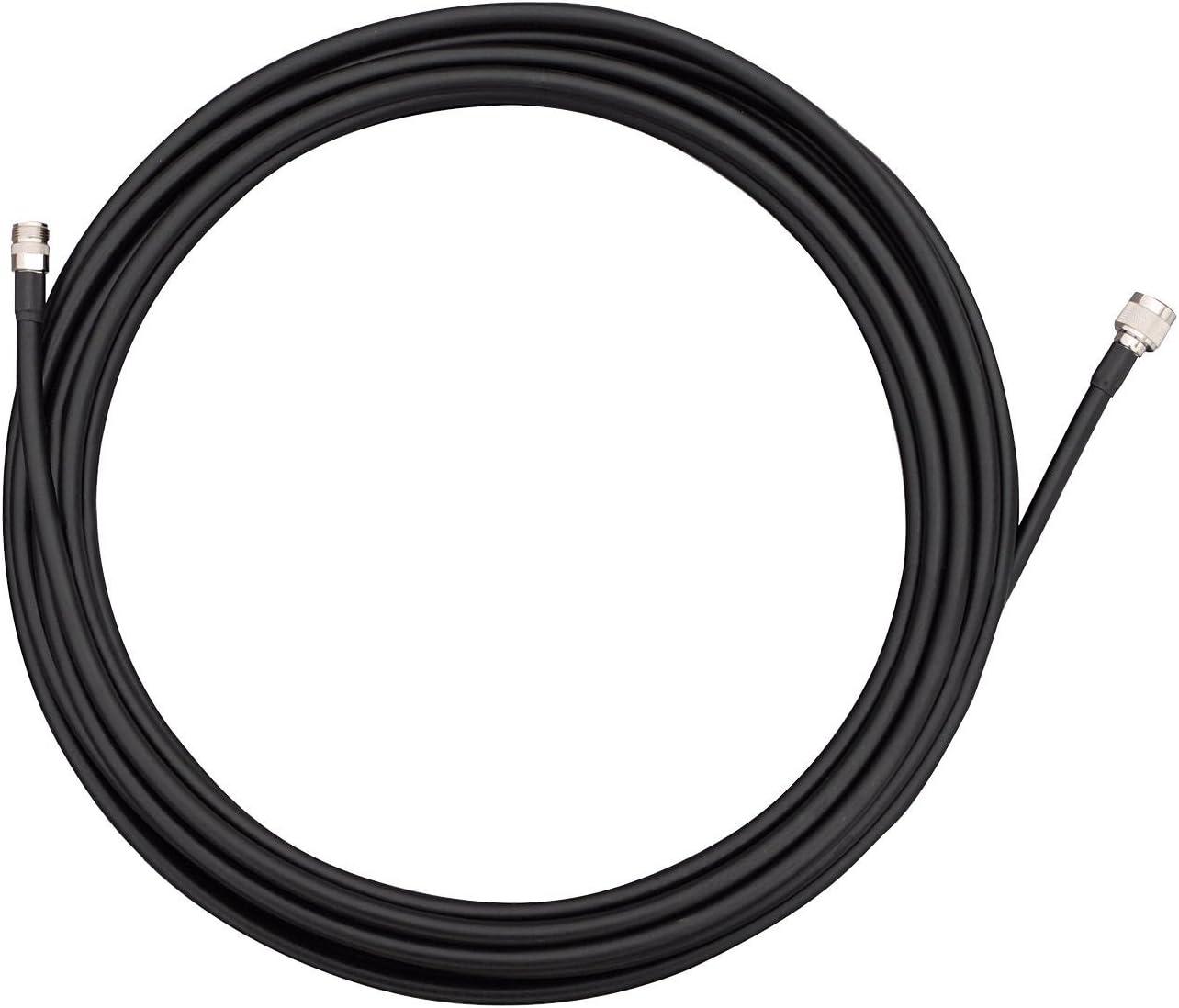 TP-Link TL-ANT24EC12N - Cable alargador de antena, Negro, 12 metros