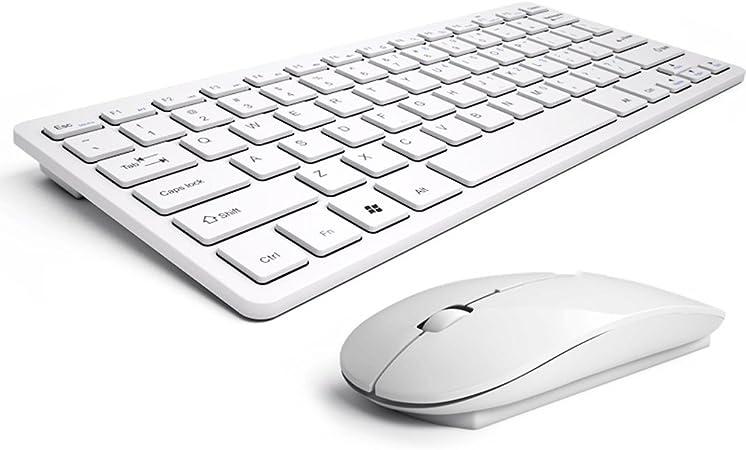 JIANGU juego de ratón inalámbrico teclado, portátil de casa ...