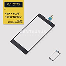 Replacement for BLU Neo X Plus N090L N090U N090 Touch Screen Digitizer Panel Glass Lens Replacement Black