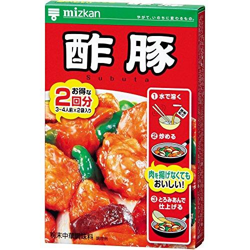 ミツカン 中華の素 酢豚 90g(45g×2袋)×20個