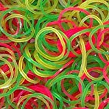 V4L Rubber Band for Home, Kitchen and Office | Size - 2 inch | Pack of 50 Gram | Multicolored