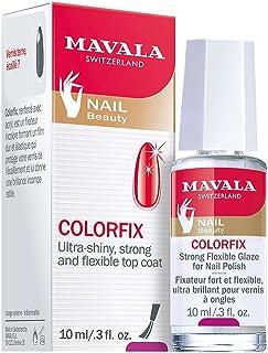 Mavala Colorfix Top Coat Esmalte de Uñas que Prolonga la Duración de la Manicura   Da Brillo - Refuerza - Elastiza 10 ml
