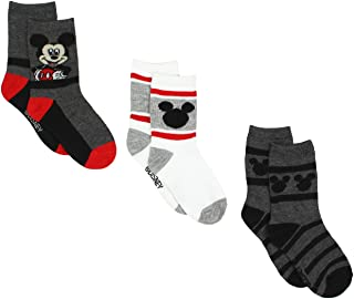 Mickey Mouse Boys 3 pack Socks (Toddler/Little Kid)
