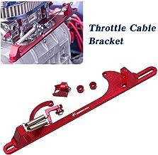 Ryanstar Throttle Cable Bracket 4150 4160 Series throttle brackets Billet Adjustable Aluminum Black