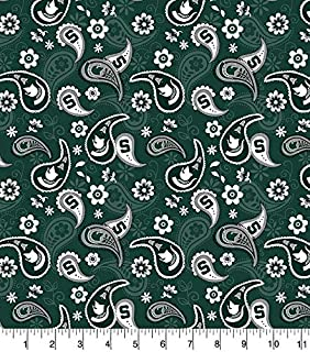 Best michigan state fabric Reviews