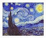 Pintoo - H1758 - Vincent Van Gogh - The Starry Night, June 1889-500 Piece Plastic Puzzle