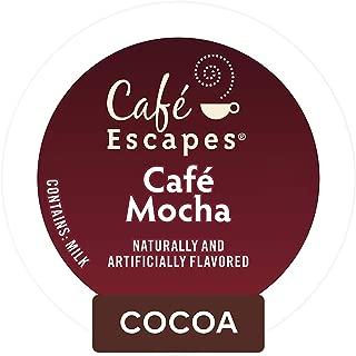 Café Escapes Café Mocha, Single Serve Coffee K-Cup Pod, Flavored Coffee, 72