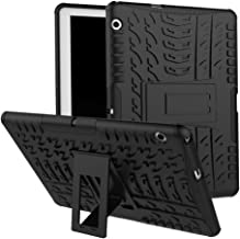 Huawei MediaPad T3 10 Case, Huawei MediaPad T3 10 Hybrid Case, Dual Layer Shockproof Hybrid Rugged Case Hard Shell Cover with Kickstand for 9.6'' Huawei MediaPad T3 10