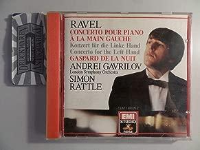 Andrei Gavrilov plays Ravel Piano Concerto for Left Hand in D + Pavane for a Dead Princess, Gaspard de la Nuit Concerto Pour La Main Gauche  EMI