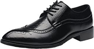 DADAWEN Homme Dressing Oxford Lace-up Business Brogue Chaussure