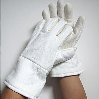 Moolo耐火手袋保護手袋300–400度工業高温度暖房手袋Fire Gloves