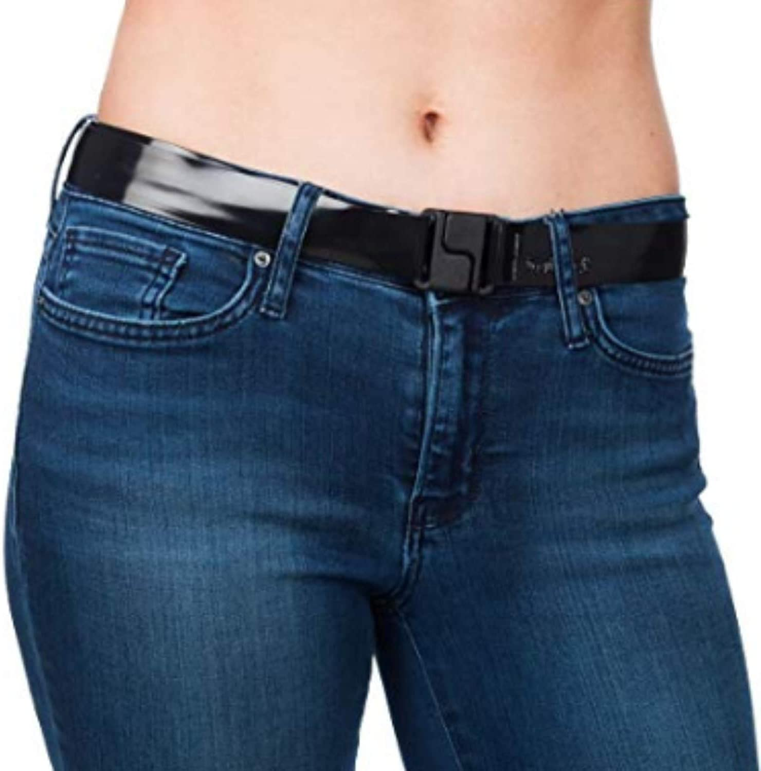 Invisibelt Skinny Lay Flat Women's Special price for a limited time Belt No - Buckle Packs 2 online shop