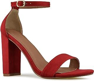 Premier Standard - Women's Strappy Chunky Block High Heel...